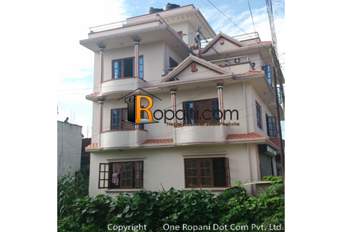 Commercial Cum Residential 3 Storey House on Sale at Tikathali
